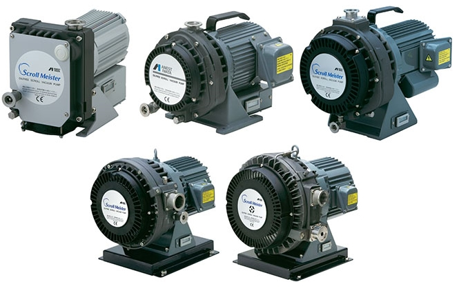 Synsysco dry scroll pumps