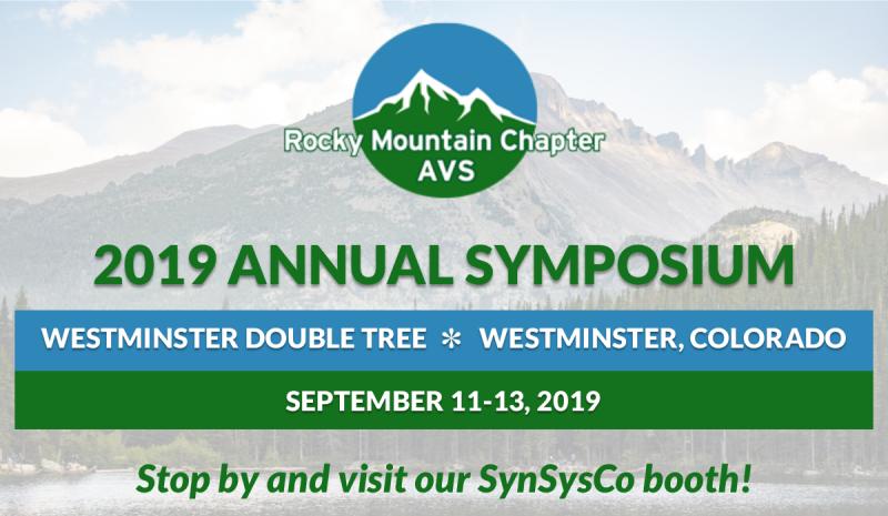 RMCAVS Annual Symposium | September 11-13, 2019